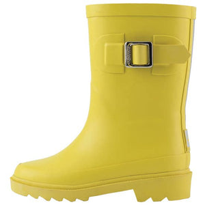 kids yellow rain boots