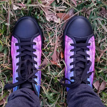 Load image into Gallery viewer, Custom Designed High Top Sneakers Pinkest Nebula