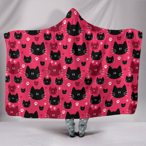 Family of Cats - Hoodie Blanket