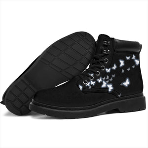 Midnight Butterfly Boot