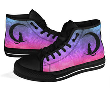 Load image into Gallery viewer, Custom Designed High Quality High Top Sneakers Pinkest Nebula