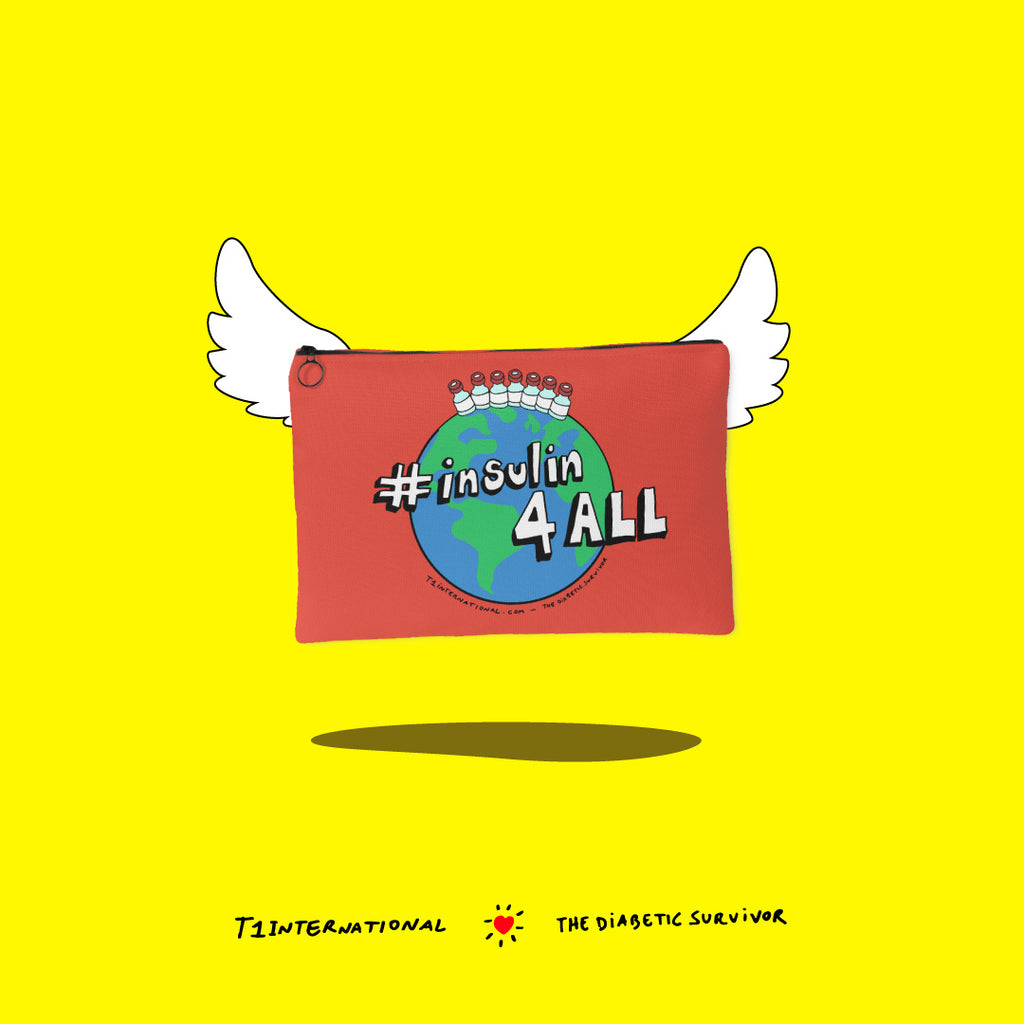 insulin4all campaign NEW Pouches - The Diabetic Survivor and T1International have teamed up!