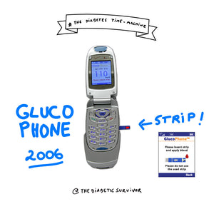 The Glucophone - The Diabetes Time-machine