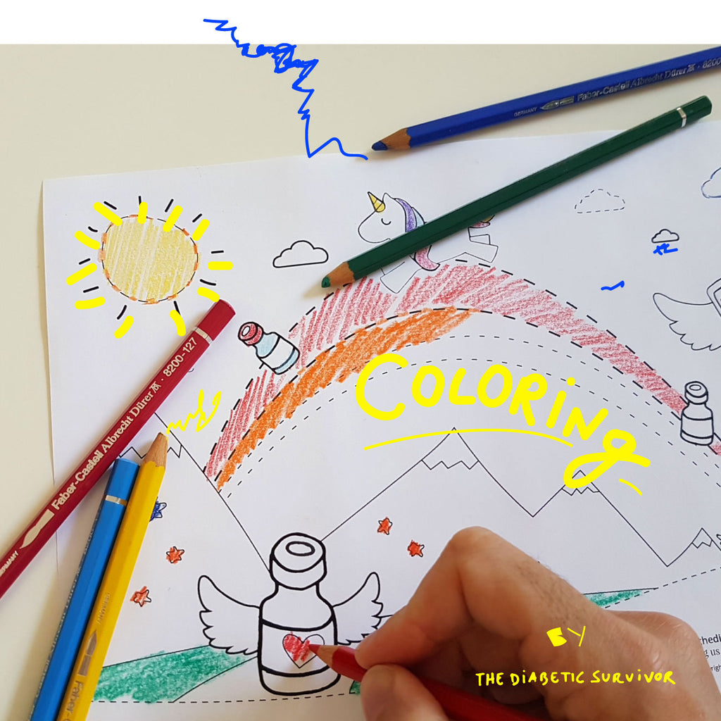 Coloring Pages 🖍 World Children's Day