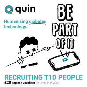 Artwork for Quin diabetes mobile app