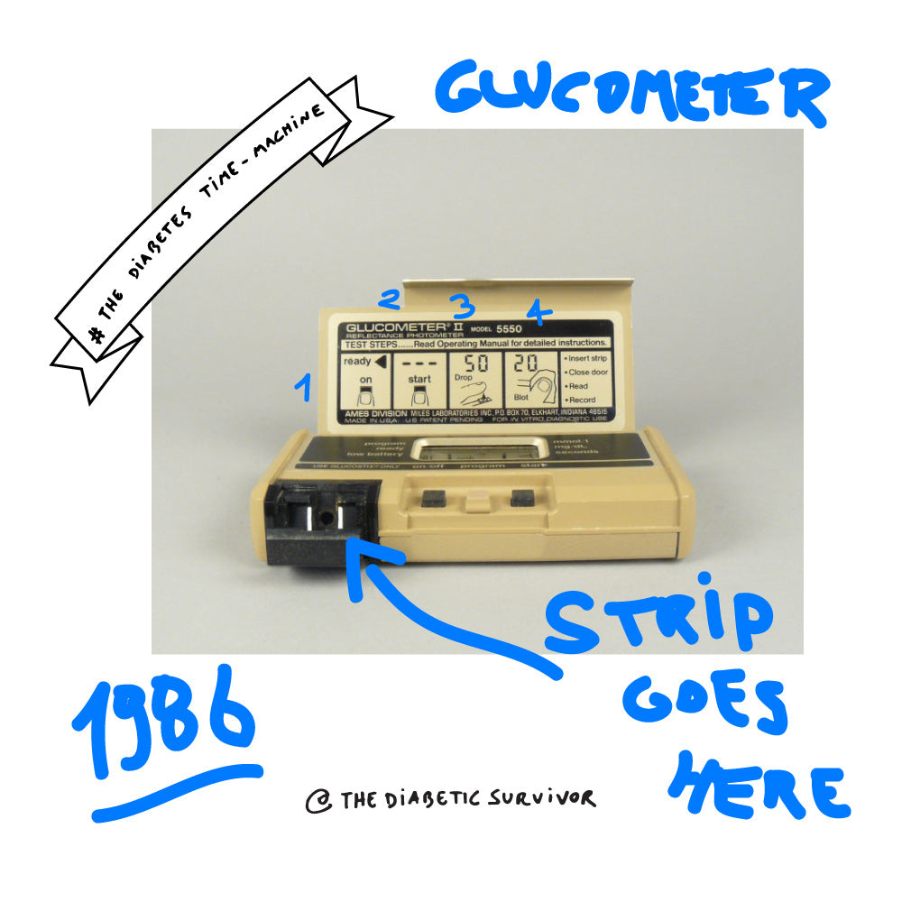 The Glucometer II - The Diabetes Time-machine