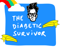 The Diabetic Survivor diabetes type 1 and type 2 apparel for the diabetes community #thediabeticsurvivor - visit www.thediabeticsurvivor.com. Let's raise awareness and empower everyone with Type 1 and Type 2 diabetes  💪 💪 💪