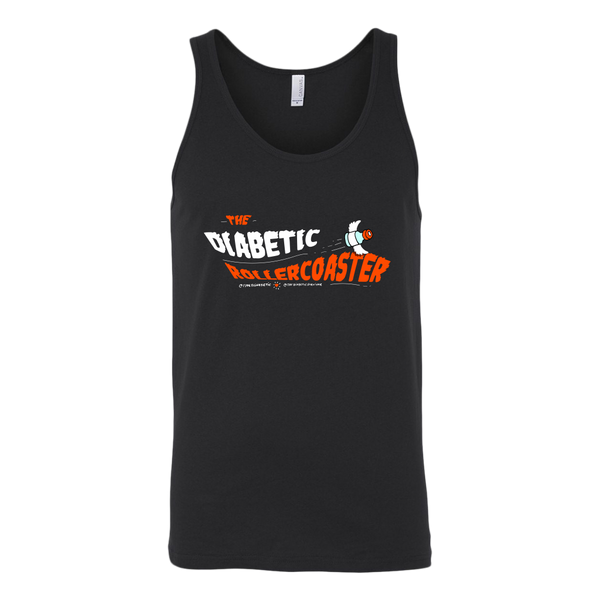 Unisex Tank - The Diabetic Roller-Coaster