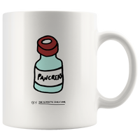 The Diabetic Survivor Pancreas Mug