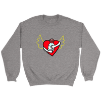 Heart & Pancreas - Sweatshirts & Hoodies HEATHER GRAY