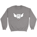 Everything is O.K. Wings Sweatshirts