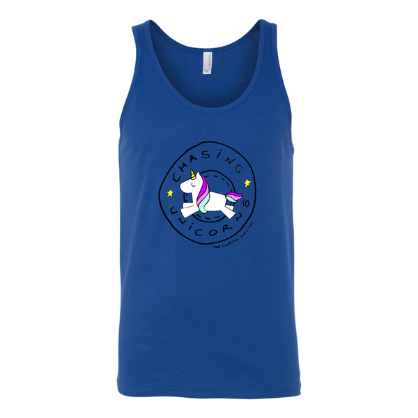 Unisex Tank - Diabetes Chasing Unicorns