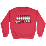 red sweater insulin4all diabetes awareness
