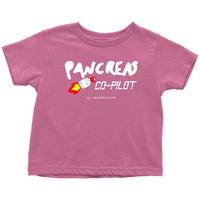 Pancreas CO-PILOT Toddler T-Shirt