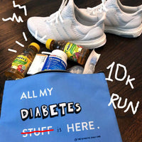 All my diabetes stuff