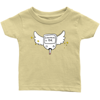 Diabetes Everything is O.K. Wings Infant T-Shirt