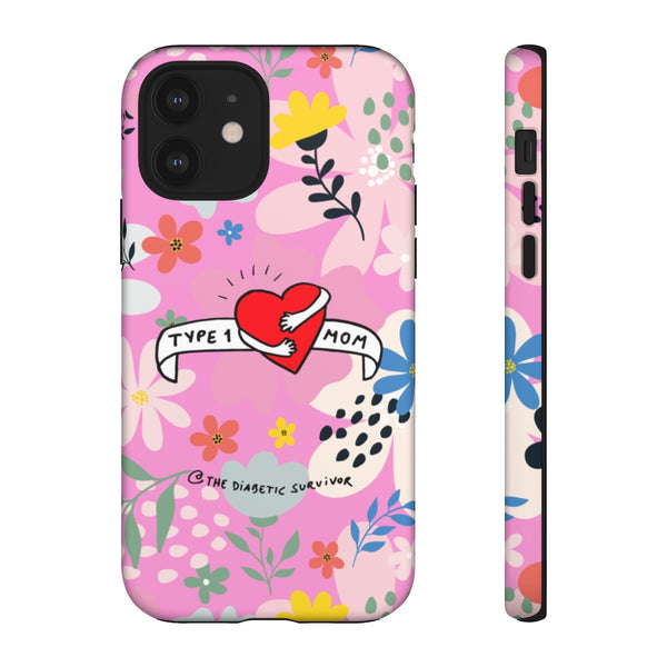 Type 1 Diabetes MOM Phone Case
