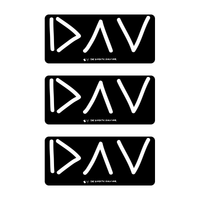 DAV Diabetes Stickers - Set of 3