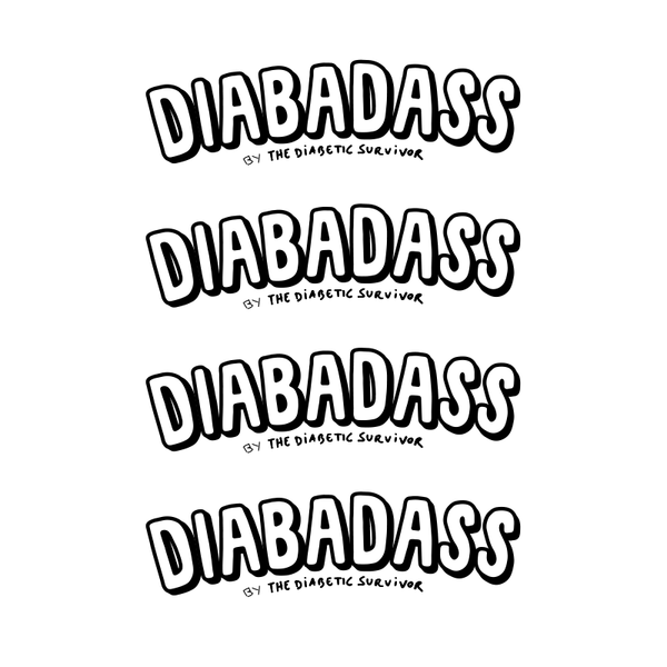 DIABADASS Sticker - Set of 4