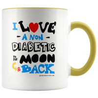 I love a NON Diabetic to the moon & back