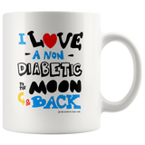 I love a NON Diabetic to the moon & bac