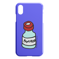 iPhone Case Pancreas (Blue violet)