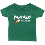 Pancreas CO-PILOT Infant T-Shirt