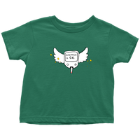 Diabetes Everything is O.K. Wings Carry-All Pouch Toddler T-ShirtDiabetes Everything is O.K. Wings Toddler Tee Shirt