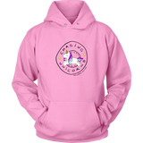 Diabetique and insulin. Chasing Unicorns hoodie