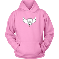 Insulin queen diabetes pink hoodie