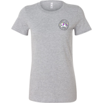 Women's Tee Shirt - Diabetes Chasing Unicorns