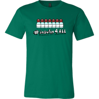 Men's Tee Shirt - insulin4all Vials
