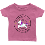 Diabetes Chasing Unicorns Infant Tee Shirt