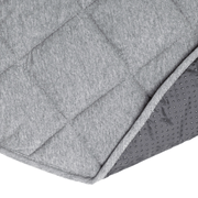 Jersey Quilted Play Mat (Waterproof Backing) - Grey
