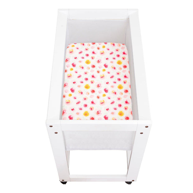 Artist Edition Watercolour Collection Universal Change Table / Bassinet Cover - Summer Blooms-Change Table/ Bassinette Cover-Outlook Baby