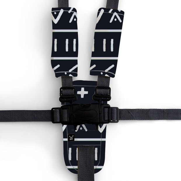 3 Piece Harness Cover Set - Mudcloth