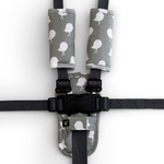 Harness Cover Set - Grey Bird