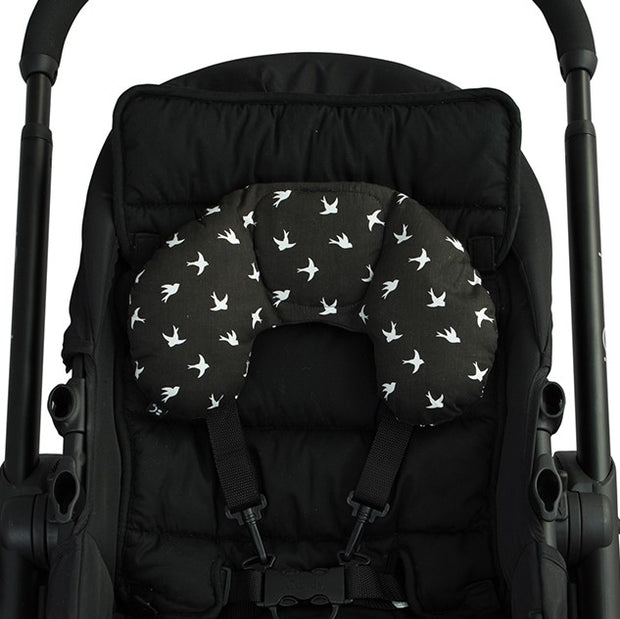 Head Hugger Neck Support - Black Swallow - Outlook Baby