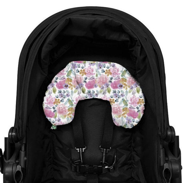 Artist Edition Watercolour Complete Pram Liner & Accessories Set - Floral Delight-Complete Set-Outlook Baby