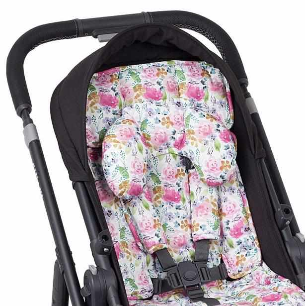 3 Piece Harness Cover Set - Floral Delight - Outlook Baby