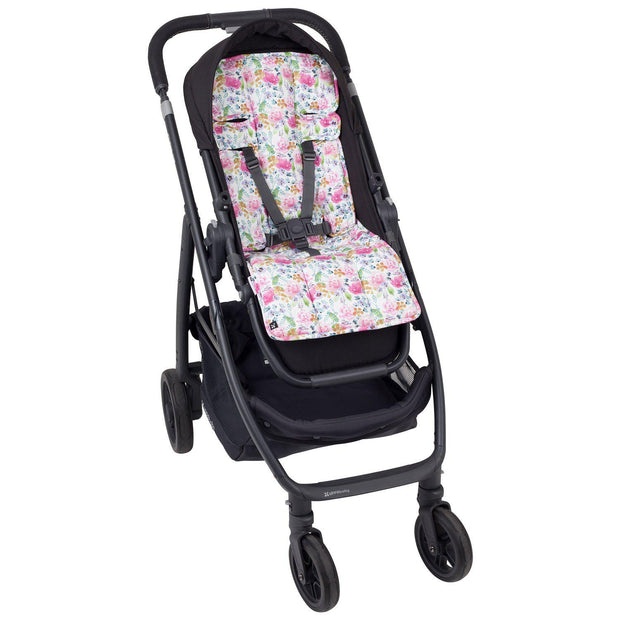 4 Piece Pram Accessories Set - Floral Delight - Outlook Baby