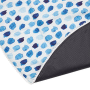 Baby Play Mat (Waterproof Backing) - Indigo Rain - Outlook Baby