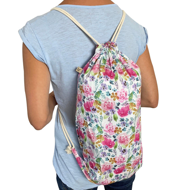 matching drawstring backpack carry bag