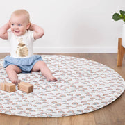 Baby Play Mat Quilted (Waterproof Backing) - Rainbows