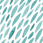 Watercolour Collection Head Hugger - Teal Drops