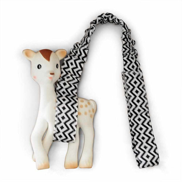 Toy Strap - Charcoal Aztec-Toy Strap-Outlook Baby