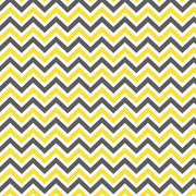 Harness Cover Strap Set - Yellow Charcoal Chevron - Outlook Baby