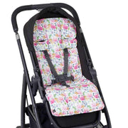 Artist Edition Watercolour Pram Liner - Floral Delight-Pram Liner-Outlook Baby
