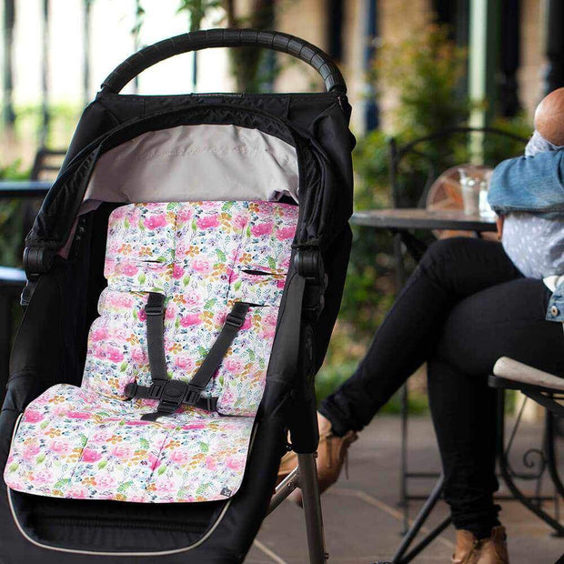 Pram Liner - Floral Delight - Outlook Baby