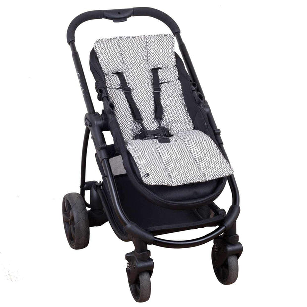 Pram Liner - Charcoal Aztec - Outlook Baby